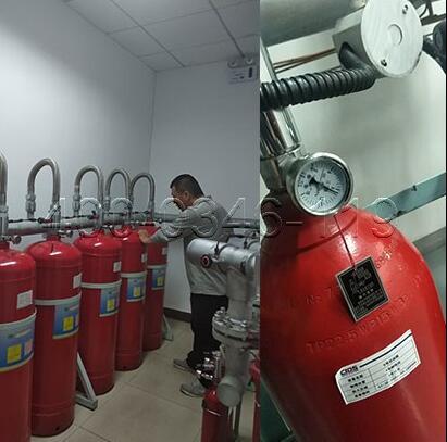 气体灭火系统施工